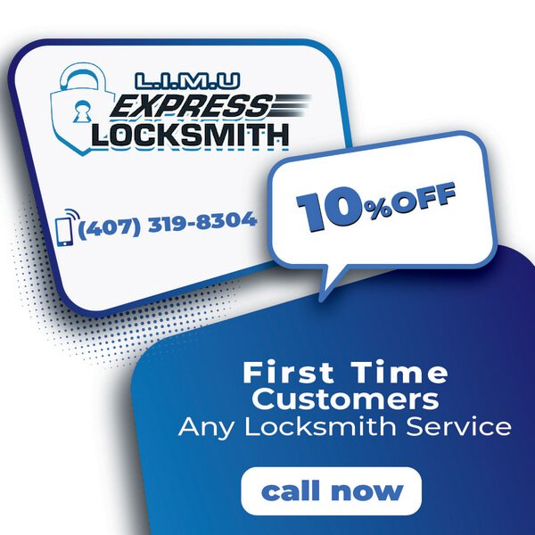 10%OFF - First tIme Orlando customer, any Locks Installation Services