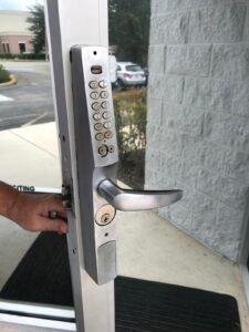 commercial lockpad installation orlando
