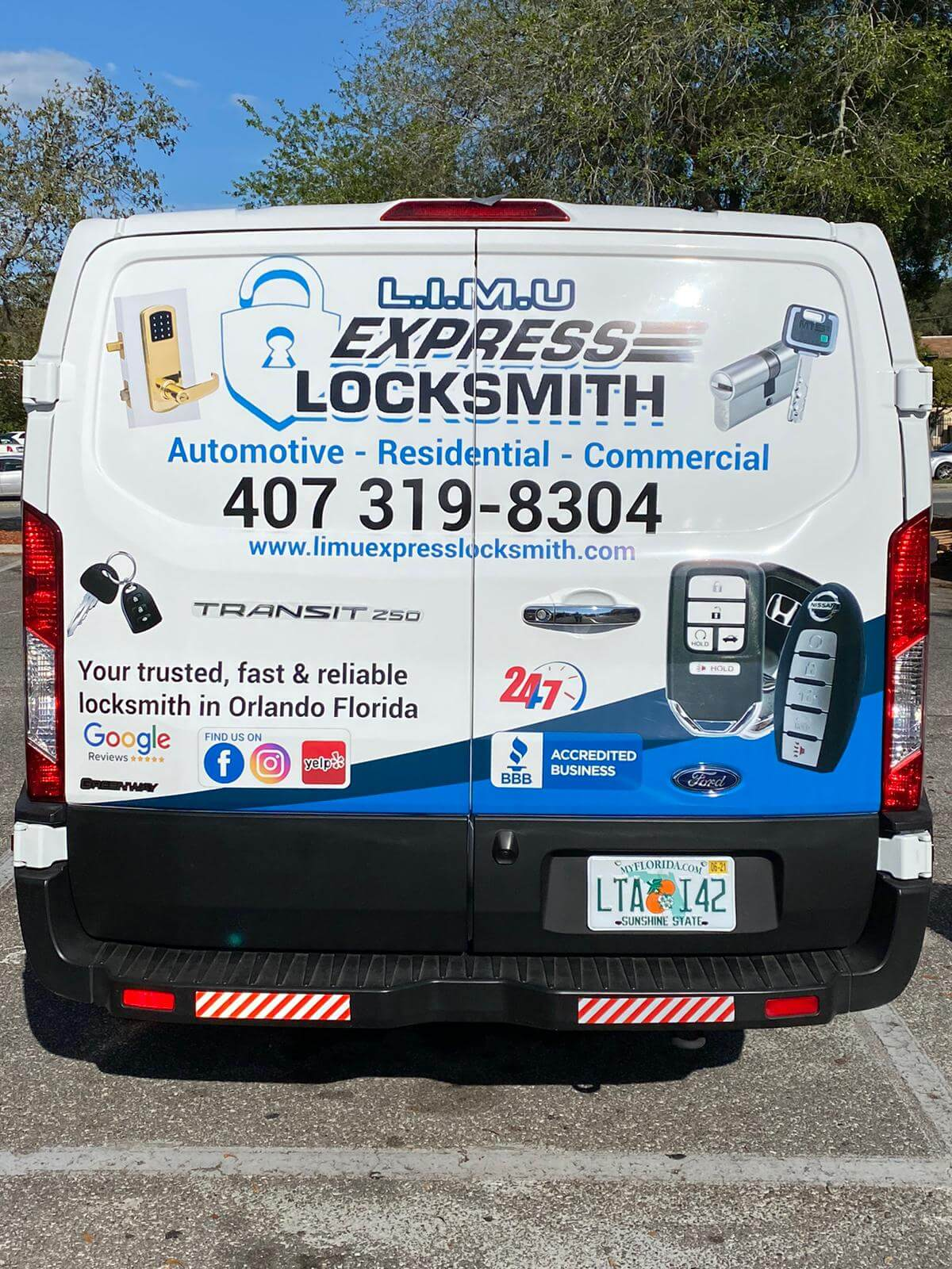 LIMU express locksmith Orlando florida